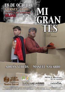 Migrantes en Teatro Las Lagunas Mijas