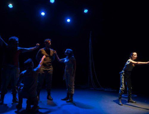 La «Numancia ocupada» de Jóvenes Clásicos llena el Teatro Echegaray